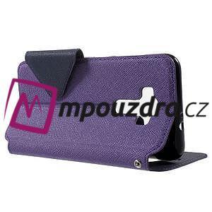 Diary pouzdro s okýnkem na mobil Asus Zenfone 3 ZE520KL - fialové - 3