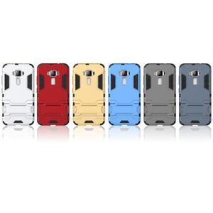 Odolný obal na mobil Asus Zenfone 3 ZE520KL - šedomodrý - 3