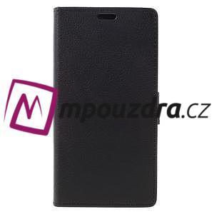 Leathy peněženkové pouzdro na Asus Zenfone 3 ZE520KL - černé - 3