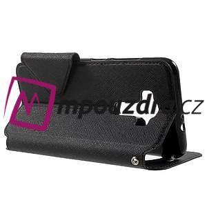Diary pouzdro s okýnkem na mobil Asus Zenfone 3 ZE520KL - černé - 3