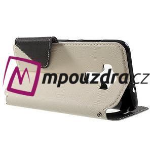 Diary pouzdro s okýnkem na mobil Asus Zenfone 3 ZE520KL - bílé - 3
