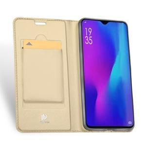 DUX PU kožené pouzdro na mobil Huawei P30 Pro - zlaté - 3