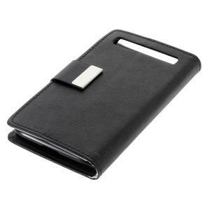 Peněženkové pouzdro na mobil BlackBerry Classic - černé - 3