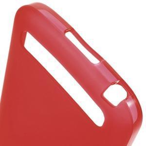 Matný gelový obal na BlackBerry Classic - červený - 3