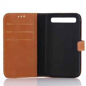 Diary pouzdro na mobil BlackBerry Classic - hnědé - 3