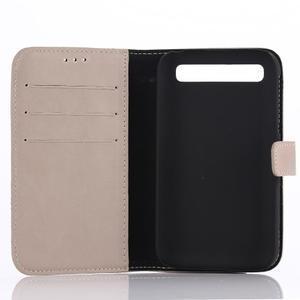 Diary pouzdro na mobil BlackBerry Classic - béžové - 3
