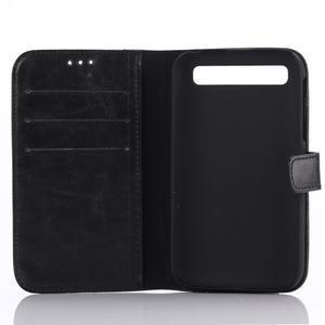 Diary pouzdro na mobil BlackBerry Classic - černé - 3