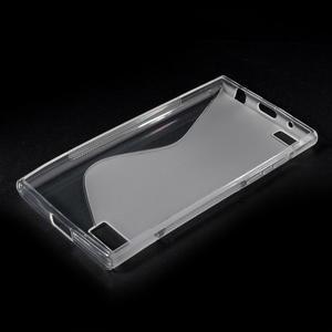 S-line gelový obal na mobil BlackBerry Leap - transparentní - 3
