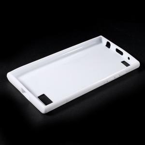 S-line gelový obal na mobil BlackBerry Leap - bílý - 3