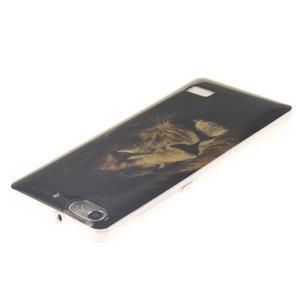 Gelový obal na mobil Honor 4C - lev - 3