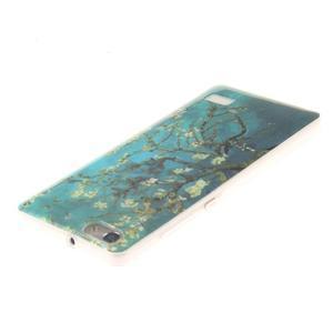 Gelový obal na mobil Honor 4C - kvetoucí strom - 3
