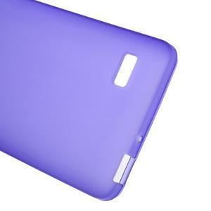 Matný gelový obal na Honor 4C - fialový - 3
