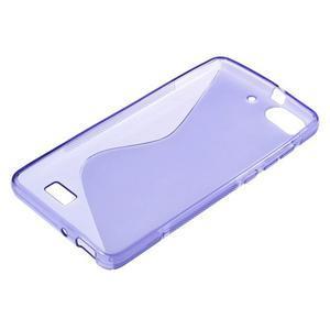 S-line gelový obal na mobil Honor 4C - fialový - 3