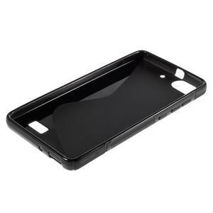 S-line gelový obal na mobil Honor 4C - černý - 3