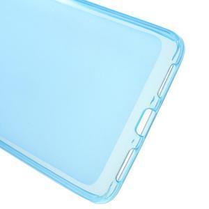 Matný gelový obal na mobil Honor 5X - modrý - 3