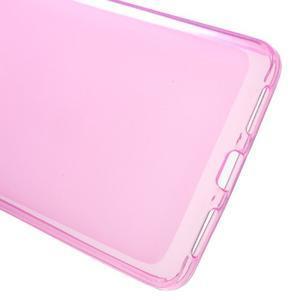Matný gelový obal na mobil Honor 5X - růžový - 3