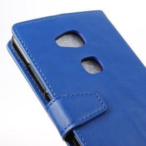 Craz Peňaženkové puzdro pre Honor 5x - modré - 3