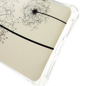 Drop gelový obal na Huawei Honor 5X - černé pampelišky - 3