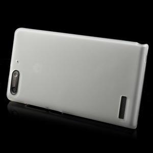 Matné gelové pouzdro na Huawei Ascend G6 - bílé - 3