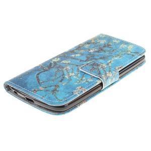 Peněženkové pouzdro na mobil LG K10 - kvetoucí strom - 3