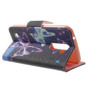 Wall peněženkové pouzdro na LG K10 - kouzelní motýlci - 3