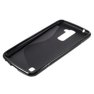 S-line gelový obal na mobil LG K10 - černý - 3