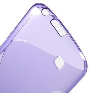 S-line gelový obal na mobil LG K10 - fialový - 3