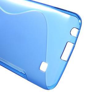 S-line gelový obal na mobil LG K10 - modrý - 3