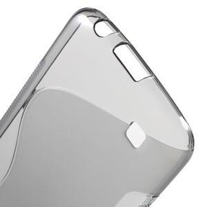 S-line gelový obal na mobil LG K10 - šedý - 3