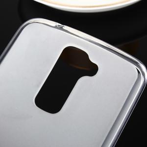 Stter matný gelový obal na mobil LG K10 - bílý - 3