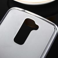 Stter matný gelový obal na mobil LG K10 - bílý - 3/6