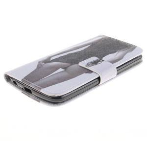Peněženkové pouzdro na mobil LG K10 - sexy dívka - 3
