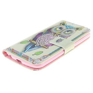 Peněženkové pouzdro na mobil LG K10 - sova - 3