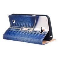 Style peněženkové pouzdro na LG K4 - jeans - 3/5