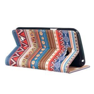 Style peněženkové pouzdro na LG K4 - tribal - 3