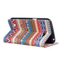 Style peněženkové pouzdro na LG K4 - tribal - 3/5