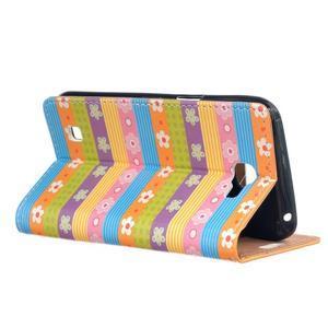 Style peněženkové pouzdro na LG K4 - barevné květiny - 3