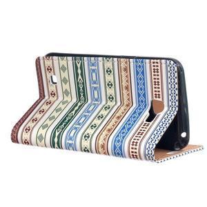 Style peněženkové pouzdro na LG K4 - ethnic - 3