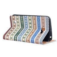 Style peněženkové pouzdro na LG K4 - ethnic - 3/5