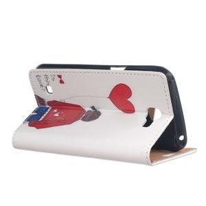 Style peněženkové pouzdro na LG K4 - láska - 3