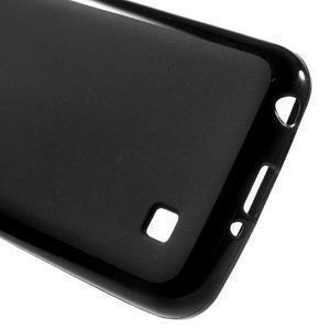 Matný gelový obal na mobil LG K4 - černé - 3