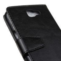 Leat peněženkové pouzdro na LG K4 - černé - 3/6
