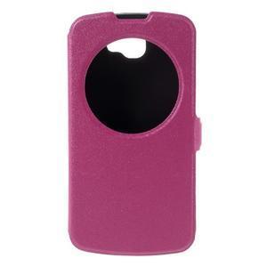 Trend pouzdro s okýnkem na mobil LG K4 - rose - 3