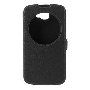 Trend pouzdro s okýnkem na mobil LG K4 - černé - 3