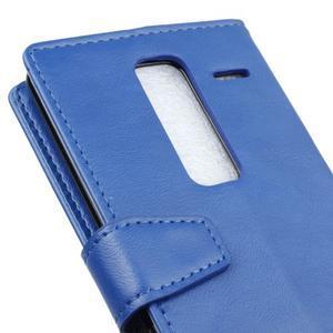 Sitt PU kožené pouzdro na mobil LG Zero - modré - 3