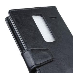 Sitt PU kožené pouzdro na mobil LG Zero - černé - 3