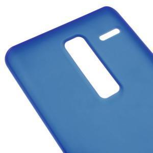 Matný gelový obal na mobil LG Zero - modrý - 3