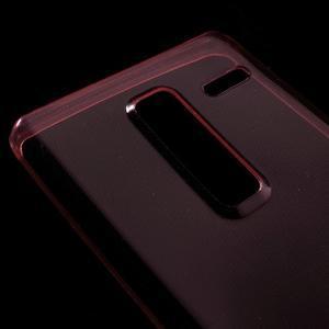 Ultratenký slim gelový obal na LG Zero - červený - 3
