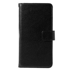 Funny peněženkové pouzdro na mobil Microsoft Lumia 650 - černé - 3