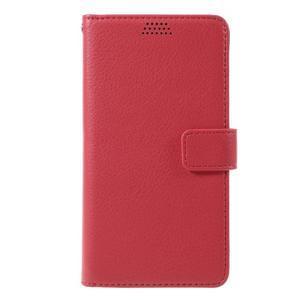 Funny peněženkové pouzdro na mobil Microsoft Lumia 650 - červené - 3
